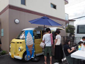 近隣のcafe花麒麟さんもキッチンカーで参加!