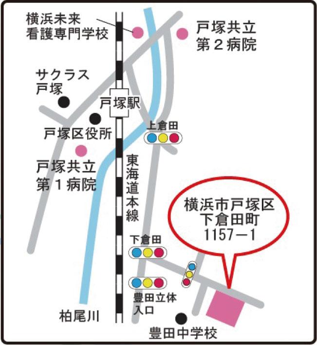 当施設までの地図、アクセス